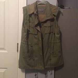 Women's military style vest