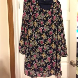 Forever 21 Plus floral dress 3x