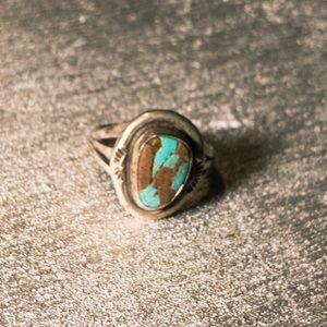 Turquoise and Sterling silver 925