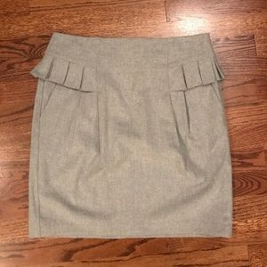 French Connection Gray Skirt