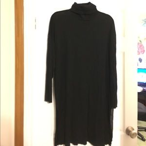 H&M's black turtle neck tunic. XL