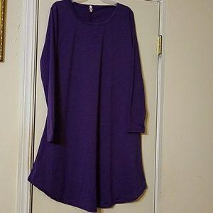 Purplious Dress