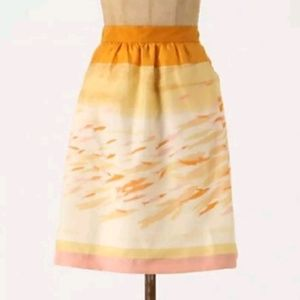 We Love Vera Silk Watercolor Goldfish Bowl Skirt