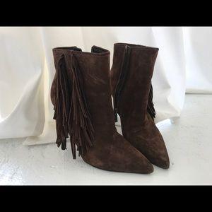 Yves Saint Laurent cowboy ankle boots