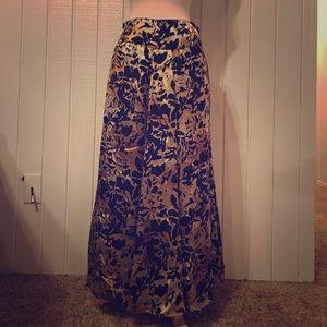 Jones New York animal print maxi skirt