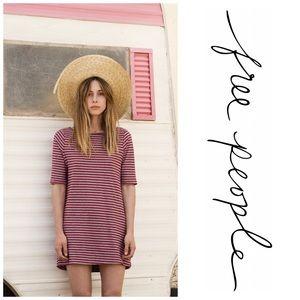 We the Free Frenchie Tee Dress, Size M, EUC