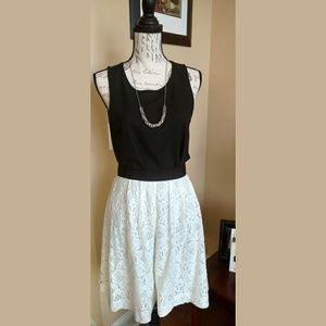 NWT Ann Taylor LOFT White skirt