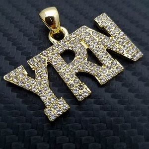 Other - YRN ICEY Gold Pendant Migos Hip Hop Music Jewelry