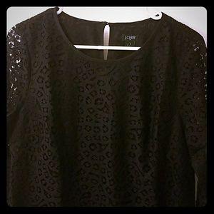 J. Crew black lace top