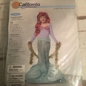 Other - NWT Child's Mermaid Costume