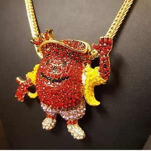 ec97528ca0104d Accessories - Kool Aid Man Pendant   Chain Colored Diamonds NEW