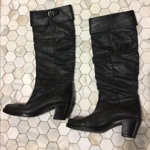 VIA SPIGA tall slouchy boots made in Italy