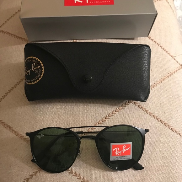 8f04a2246 Ray-Ban Accessories | Erika Double Bridge Rayban Sunglasses Size 52 ...