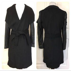 Zara belted wrap coat