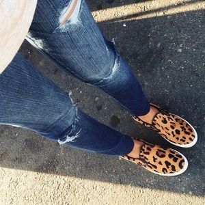 Steve Madden Cheetah Loafers