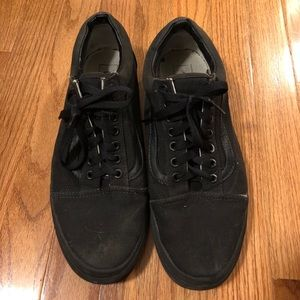 Men's old school canvas vans
