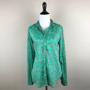 Holding Horses Anthropologie Button Up Top