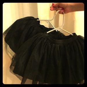 Other - Stylish black tutus