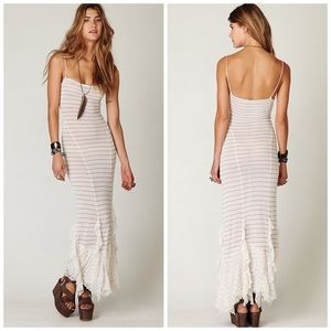 Free People The Hills Are Alive Slip Dress, XS