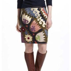 Anthropologie Vanessa Virginia Tulipa skirt