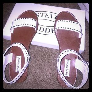 Steve Madden Donddi-s Sandals (white)