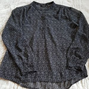 a.n.a. patterned blouse