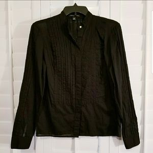 NWOT Banana Republic Pintuck Shirt