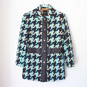 Houndstooth Kimball Winter Coat