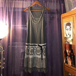 Crocheted Flapper Dress