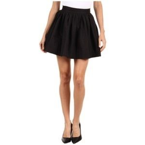 kate spade new york black coreen skirt