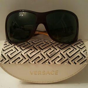 Very Sexy pair of Versace sunglasses.