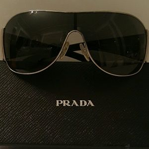 Very nice Prada sunglasses.