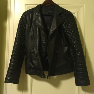La Marque Leather Jacket, Size Medium