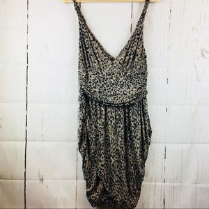 Guess Cheetah Brown and Black Dress XL