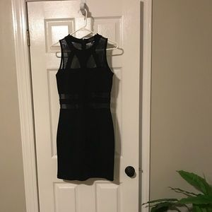 Black body con dress. Worn once. Perfect condition