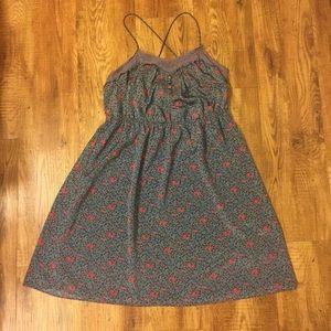 American Eagle Spaghetti Strap Floral Dress