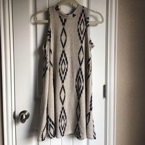 Honeylee Mockneck Sweater Dress