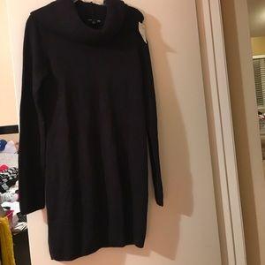 H&M Black Sweater Tunic