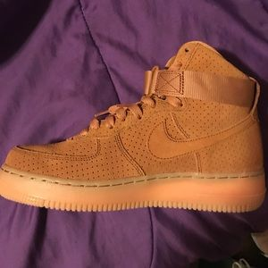 wheat nike air force 1s