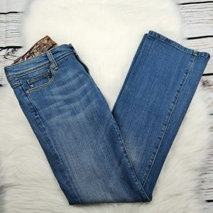 Vigoss Jeans Millan Boot Pocket Size 29 Blue