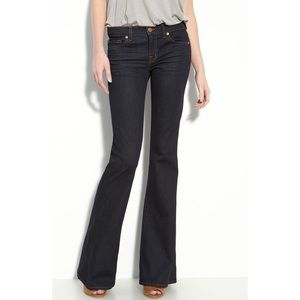 J Brand Babe Flare Jeans in Starless Wash Sz 25