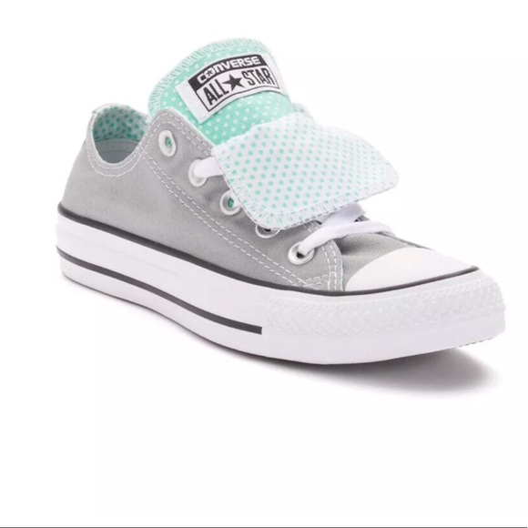 b35dd4032 Converse All Stars Shoes | Converse Double Tongue Gray Ox Womens Sz ...