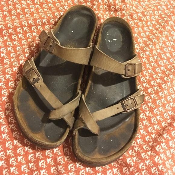 62b44fd58fe Birkenstock Shoes - Birkenstock Mayari Tobacco Oiled Leather