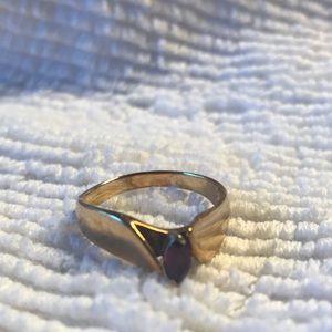 14 karat ruby ring