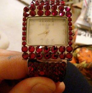 Jimmy Crystal New York Swarovski Watch