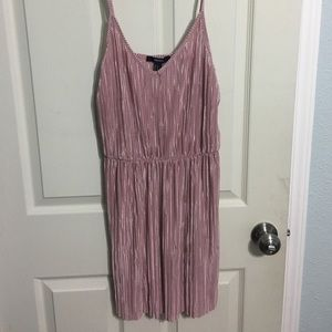 Forever 21 pink silk dress