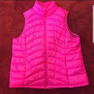 Hot pink Old Navy vest