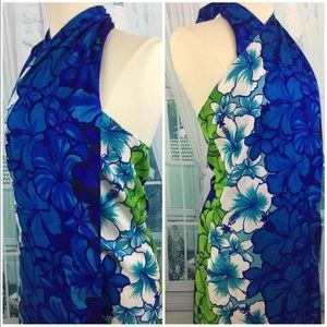 🌺🍃Gorgeous Vintage Hawaiian Luau Wrap Dress 👗