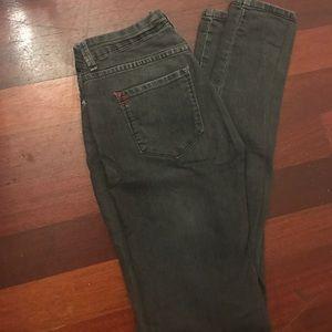 Grey Wash BDG Cigarette Jeans