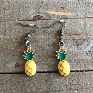3 for $25 Handmade Pineapple Dangle Earrings